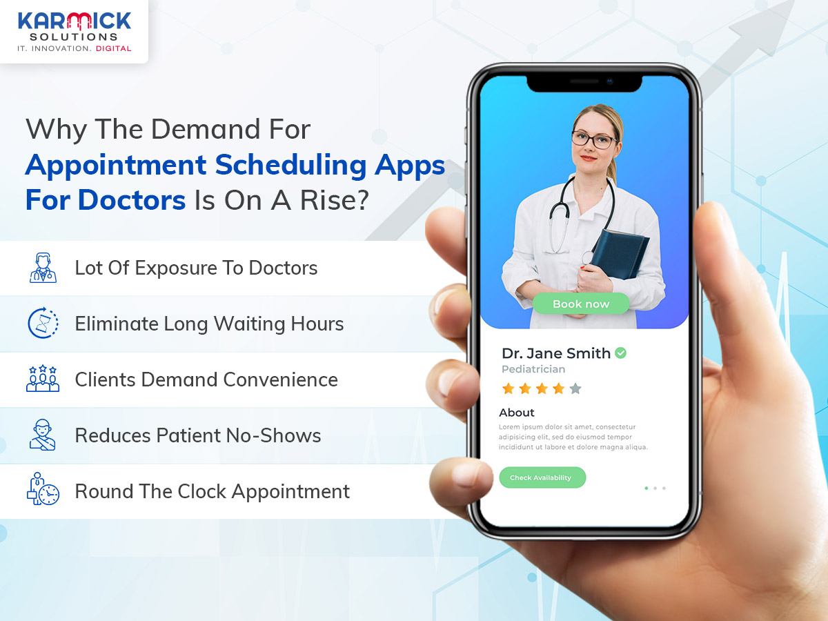Why The Demand For Appointment Scheduling Apps For Doctors Is On A Rise?