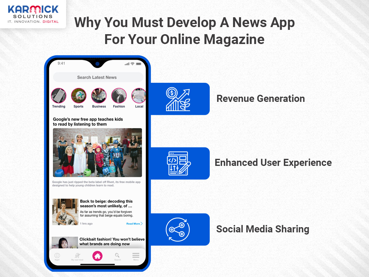 Why You Must Develop A News App For Your Online Magazine