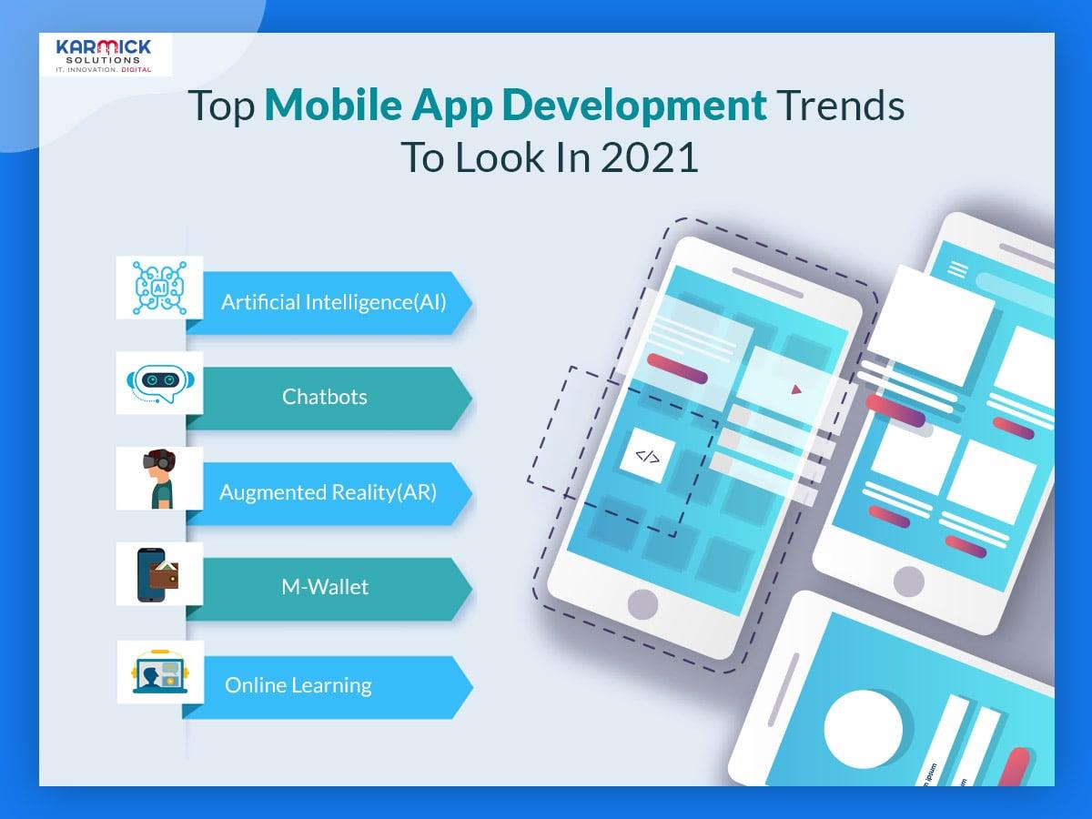 Top Mobile App Development Trends To Look In 2021
