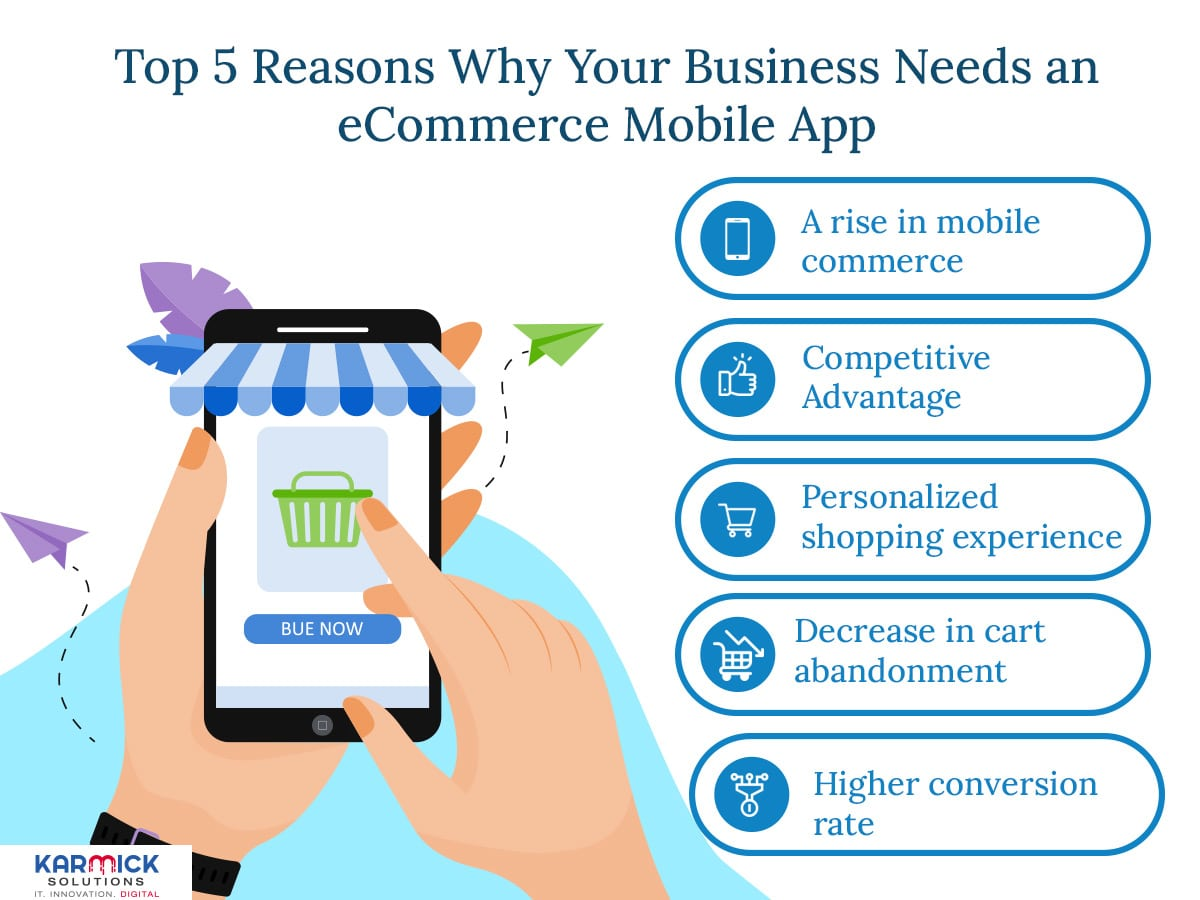 Top 5 Reasons Why Your Business Needs an eCommerce Mobile App